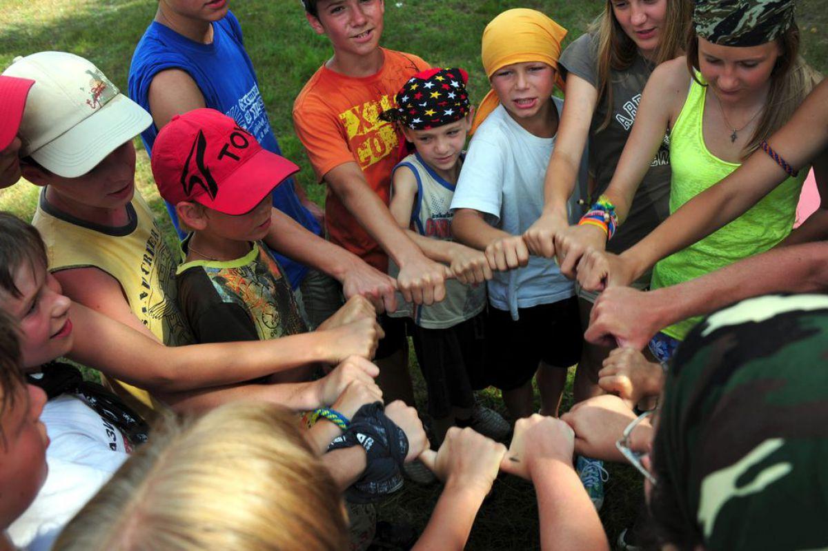 Игры На Знакомство В Лагере Младших Отрядов